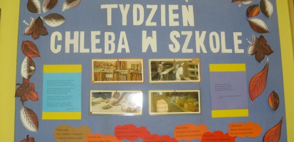 Tydzień Chleba w Szkole
